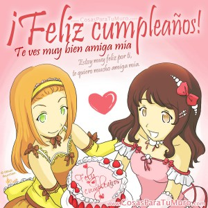 feliz cumple amiga te quiero_Feliz cumpleaños