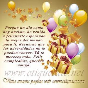 saludos de cumpleaños para un amigo en facebook_Feliz cumpleaños