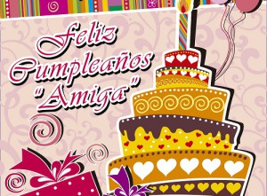 Imagenes de cumpleaños para una amiga