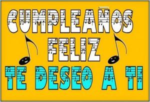 Canción feliz cumpleaños