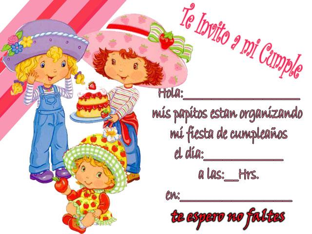 Dedicatorias Y Frases Imágenes De Invitación De Cumpleaños