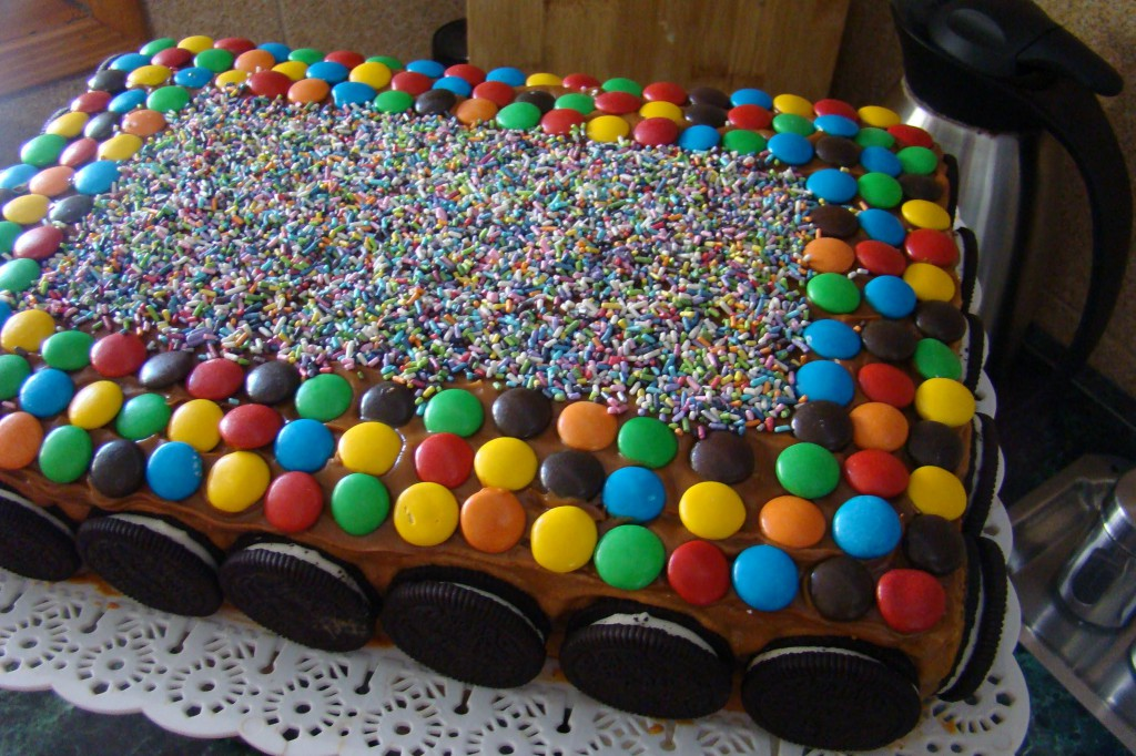 bizcocho de cumpleaños