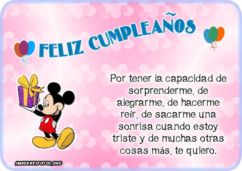 Tarjetas de cumpleaños para enviar por facebook e instagram
