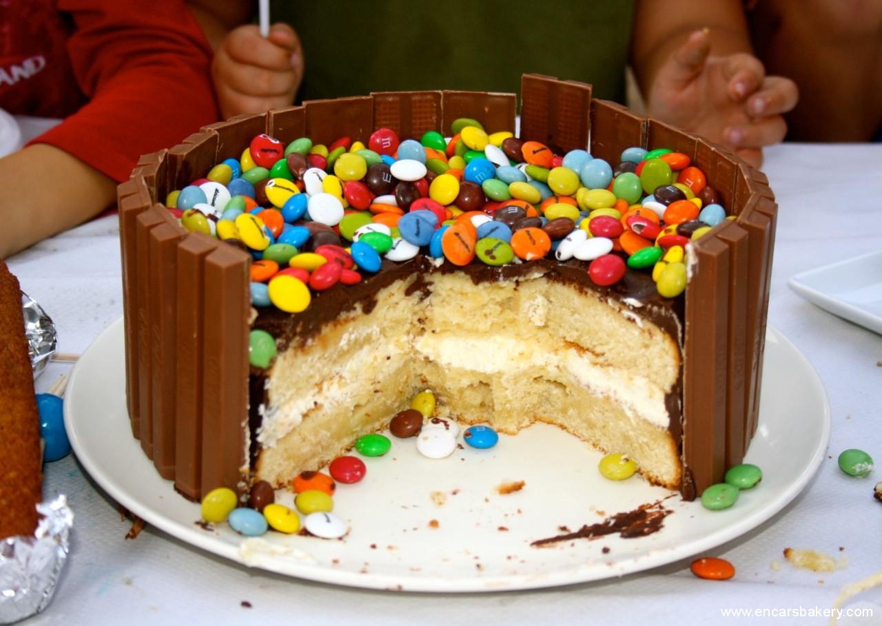 Dedicatorias y frases im genes de pasteles para celebrar - Bizcocho de cumpleanos para ninos ...