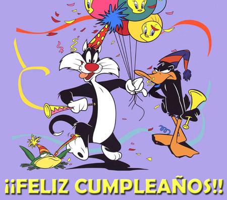 Felicitaciones de cumpleaños con imagenes variadas