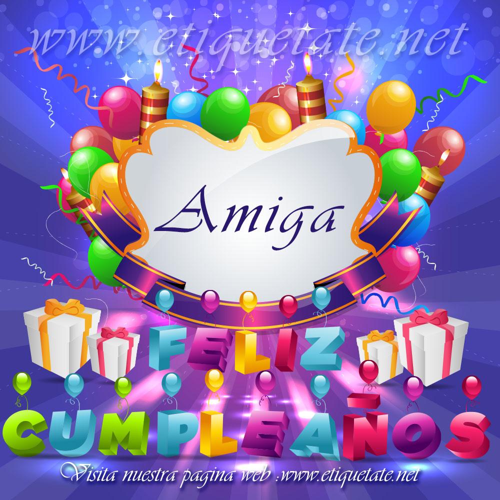 Imagenes gratis de feliz cumpleaños para mi amiga de trabajo, variadas