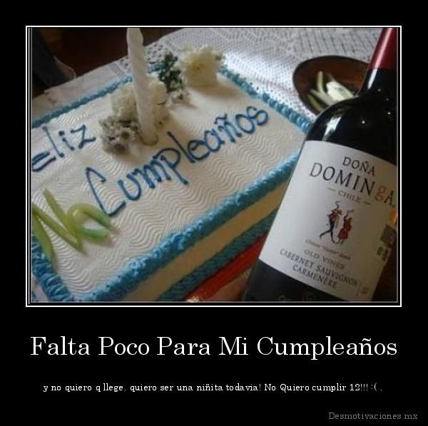 Para mi cumpleaños quiero.