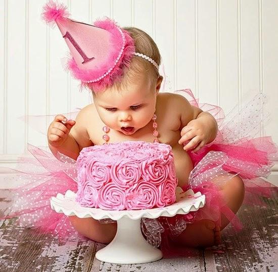 Cómo celebrar el primer año de un niño, fotos