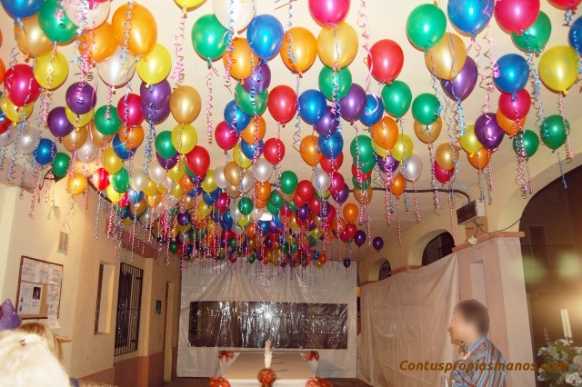 C mo decorar una fiesta con behigas - Como adornar una fiesta de cumpleanos ...