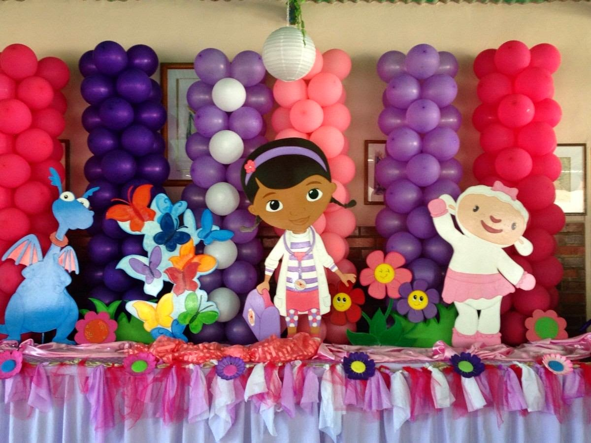 El uso de los globos en fiestas.