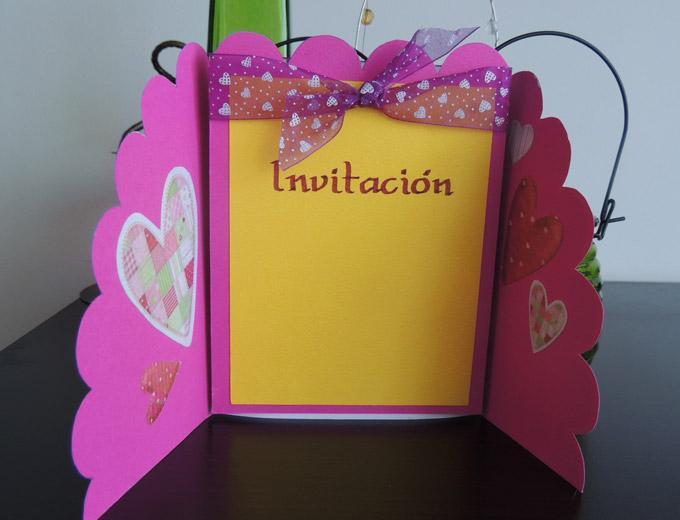 Invitaciones de cumplea os hechas en casa - Casas para belenes hechas a mano ...