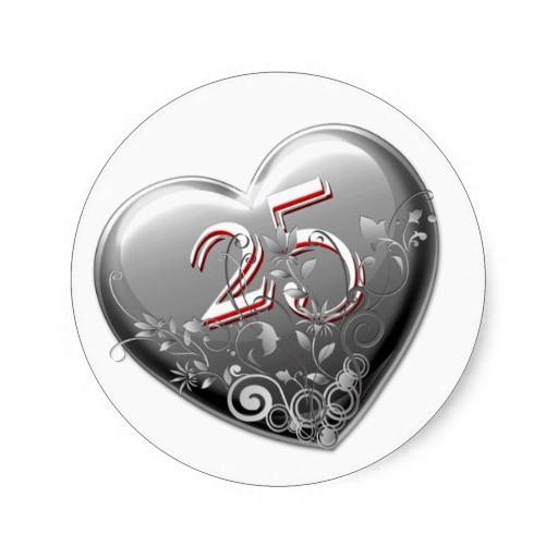 25 aniversario bodas