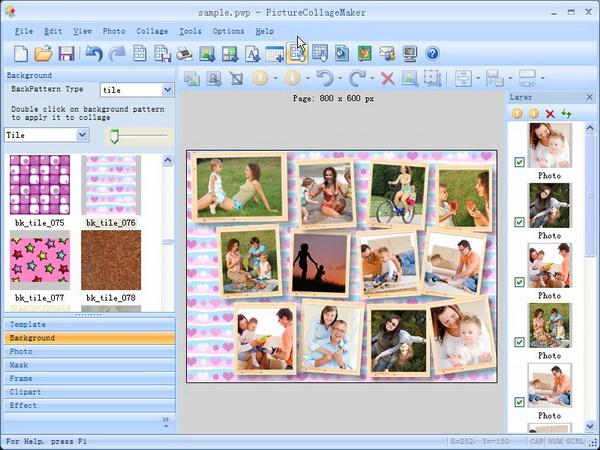 Collage de fotos programas