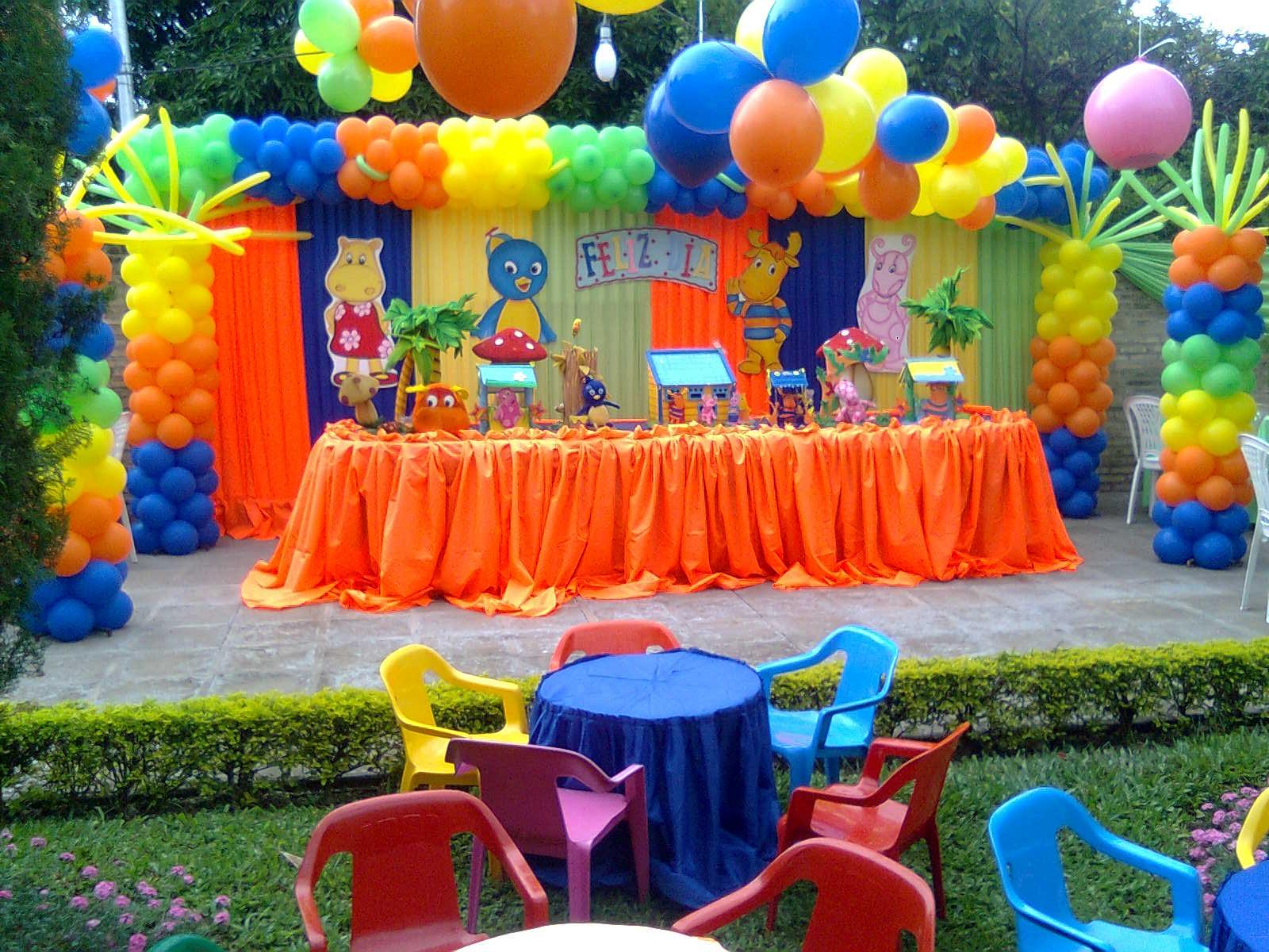 Cumplea os infantiles - Fiesta de cumpleanos en casa para ninos ...