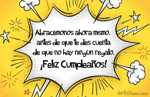 Felicidades cumpleaños