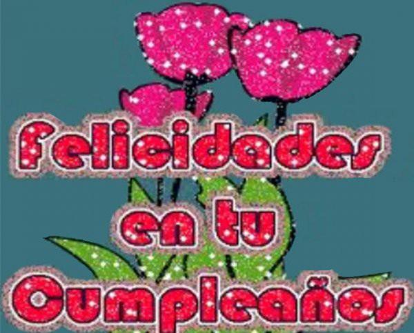 Felicidades de cumpleaños