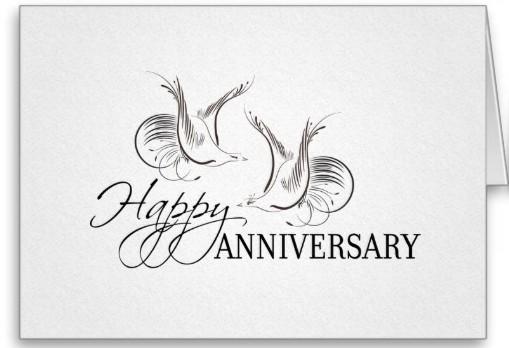 Felicitaciones aniversario de bodas