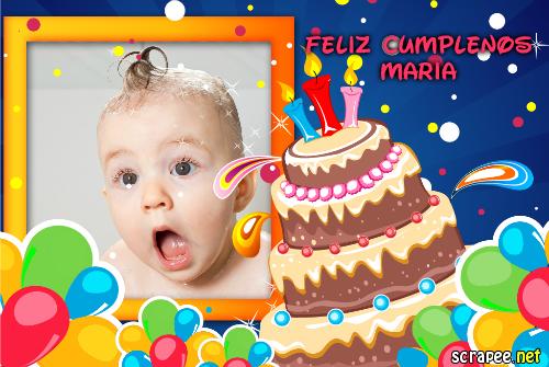 Felicitaciones de cumpleaños.