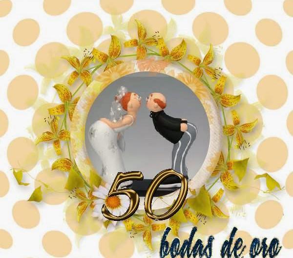 Felicitaciones de aniversario de boda - Regalos 50 anos de casados ...