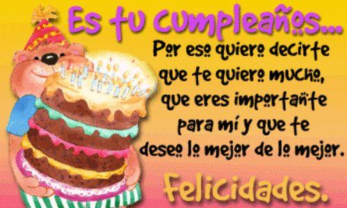 Felicitaciones por cumpleaños gratis