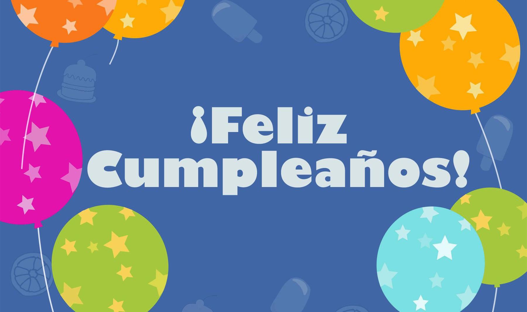 Felis cumpleaños