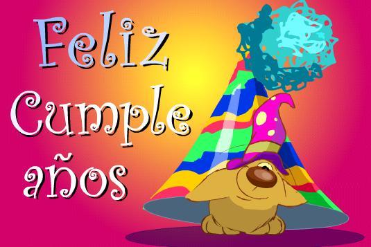 Feliz cumpleaños compañera animales