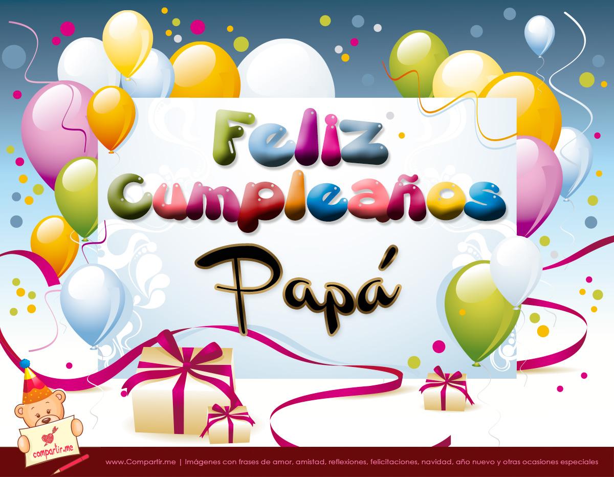 Feliz cumpleanos papa blog