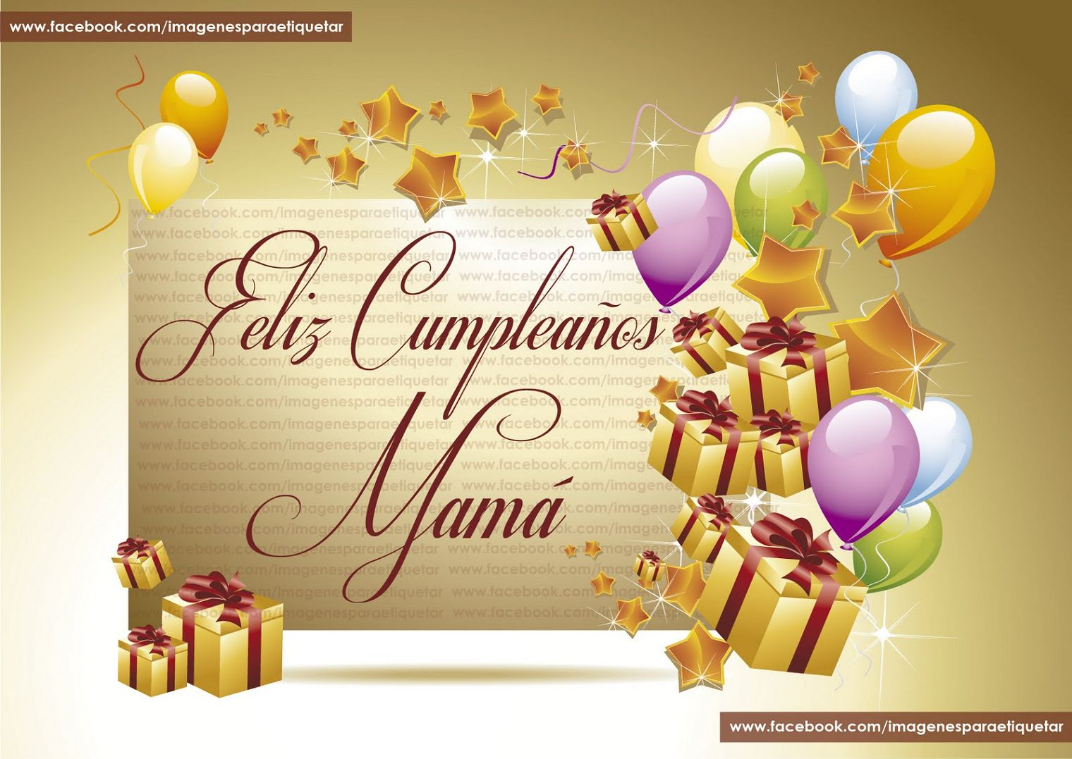 ... - Frases De Cumpleaños Feliz Cumpleaños Mama - Imagenes - cumple