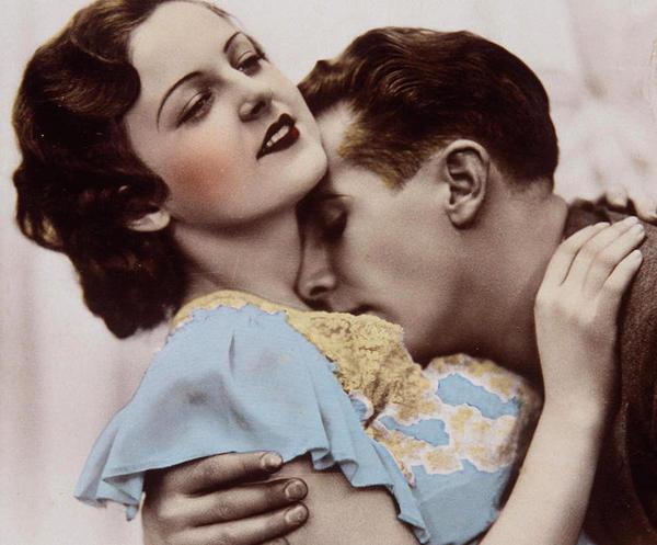 Fotos antiguas amor