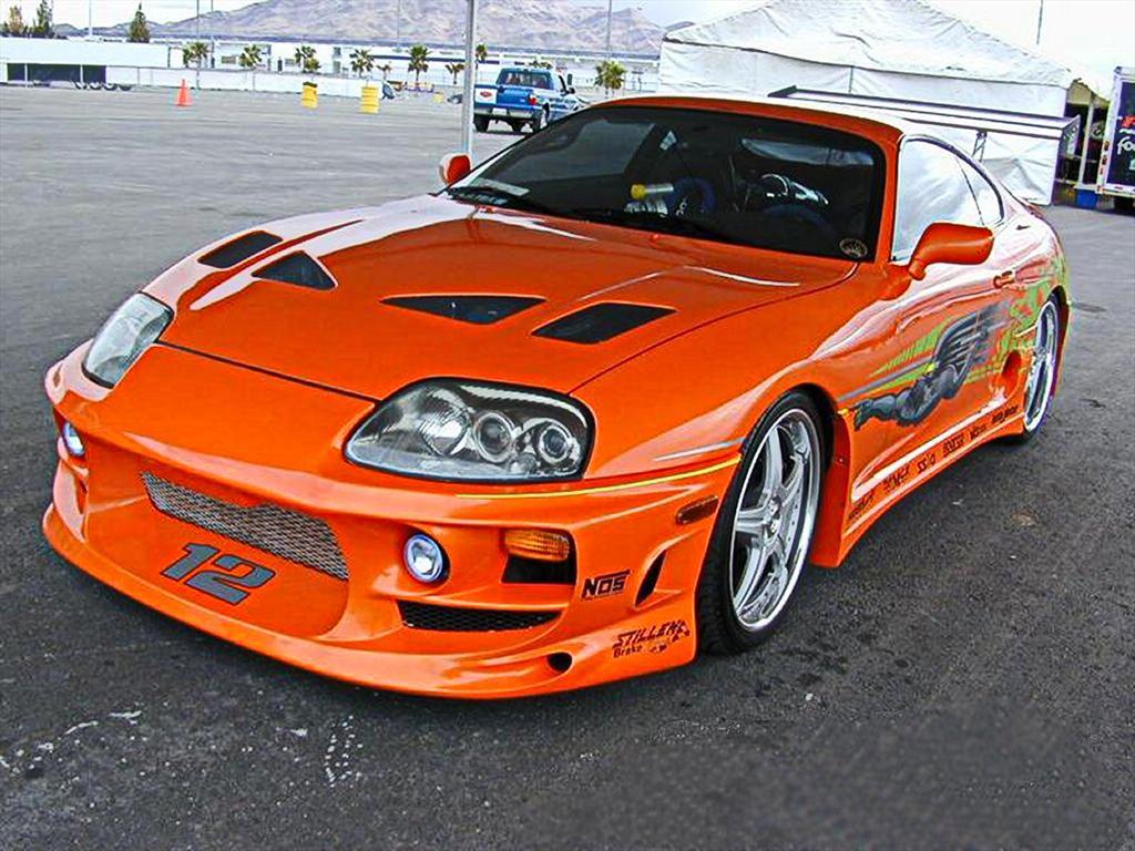 Fotos de autos naranja
