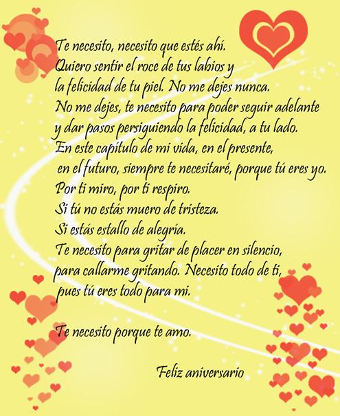 Frases de amor para aniversario