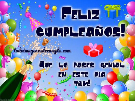 Descargar imagen de cumpleaños para celebrar