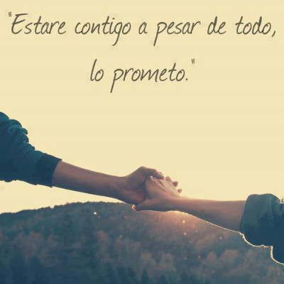 Frases románticas promesas