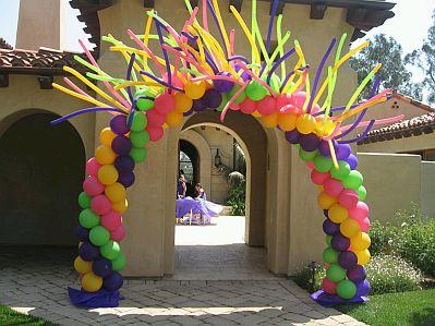 Ideas para decorar un globo para un cumpleaños, imágenes