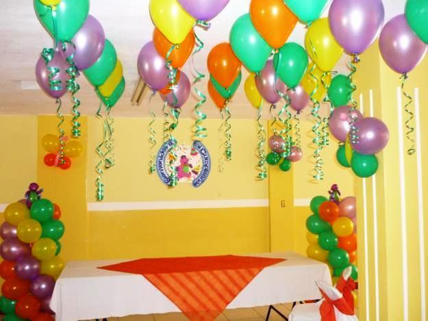 Ideas para decorar un globo para un cumplea os for Cuarto adornado para cumpleanos