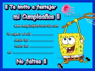 Imágenes de invitaciones para cumpleaños originales