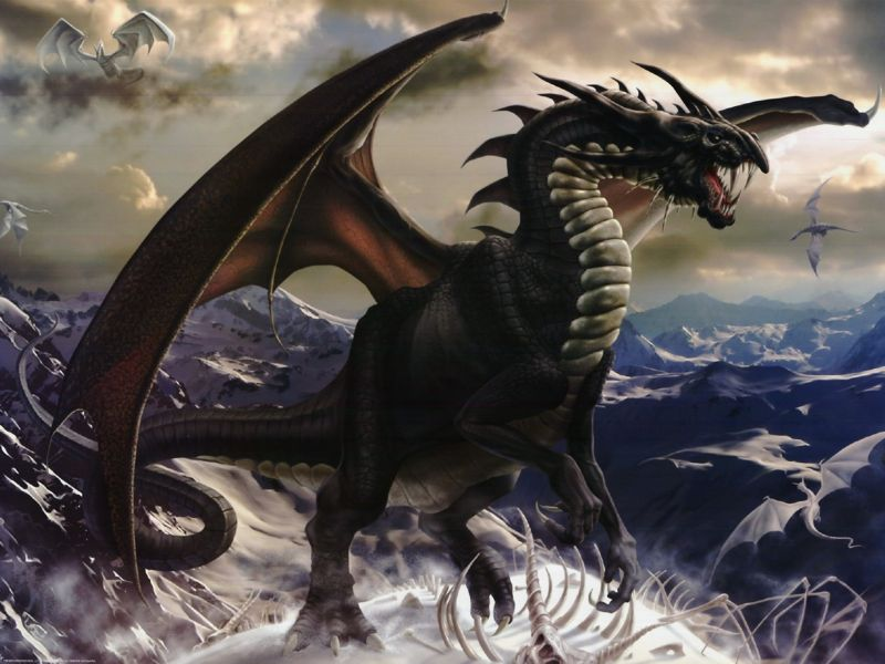 Imagenes de dragones oscuros