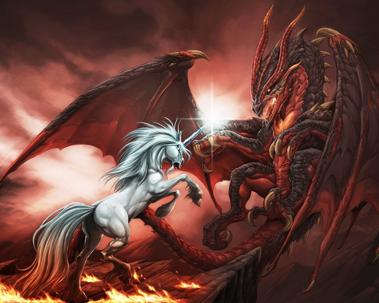 Imagenes de dragones vs