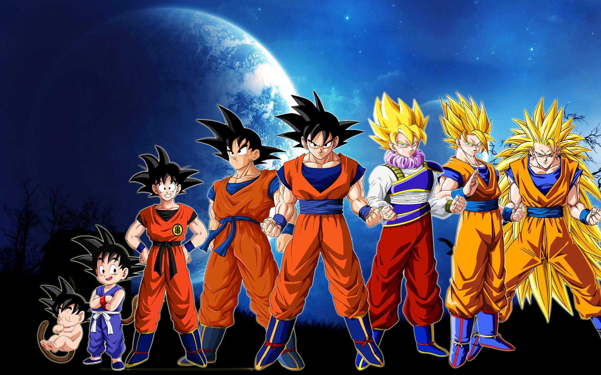 Imagenes de goku Dragon Ball