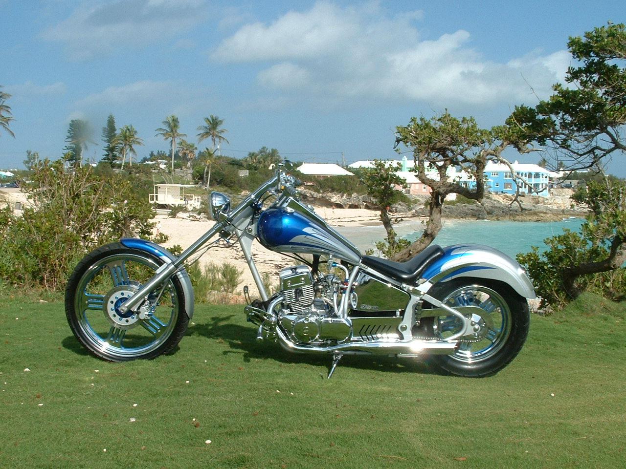 Imagenes de motos choperas