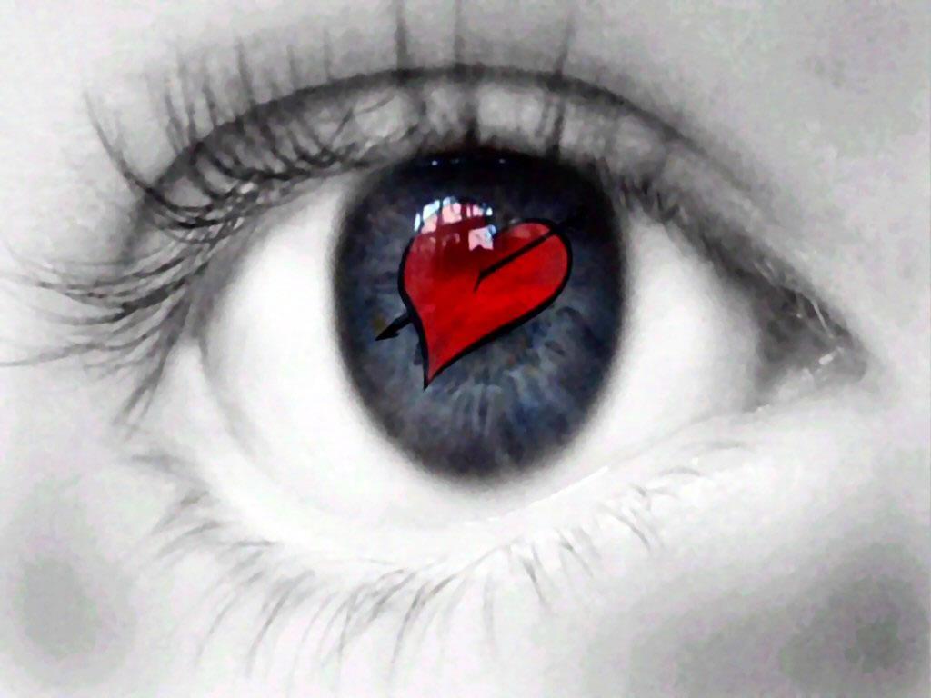 Imagenes de ojos corazon
