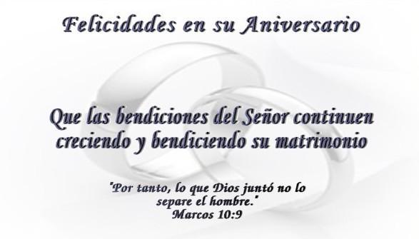 Mensajes de aniversario de matrimonio
