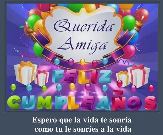 Mensajes de cumpleaños para una amiga muy especial