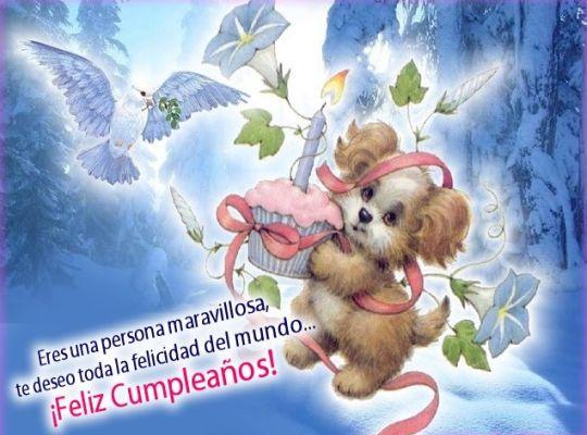 Mensajes felicitacion de cumpleaños