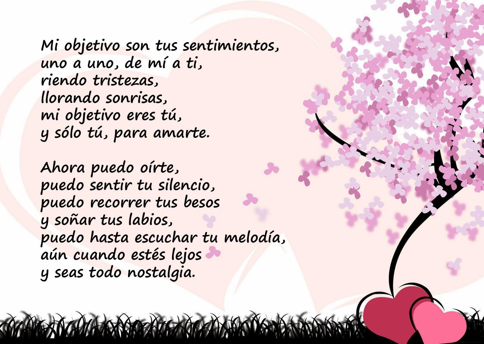 Poema aniversario amor