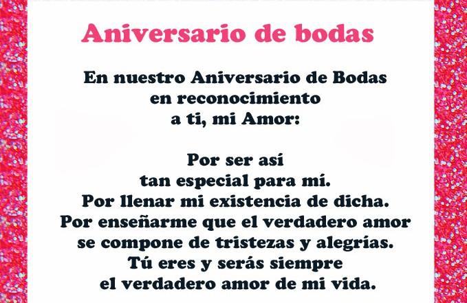 Poemas De Aniversario: Versos Aniversario De Bodas