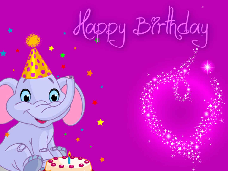 Tarjeta de cumpleaños gratis animal