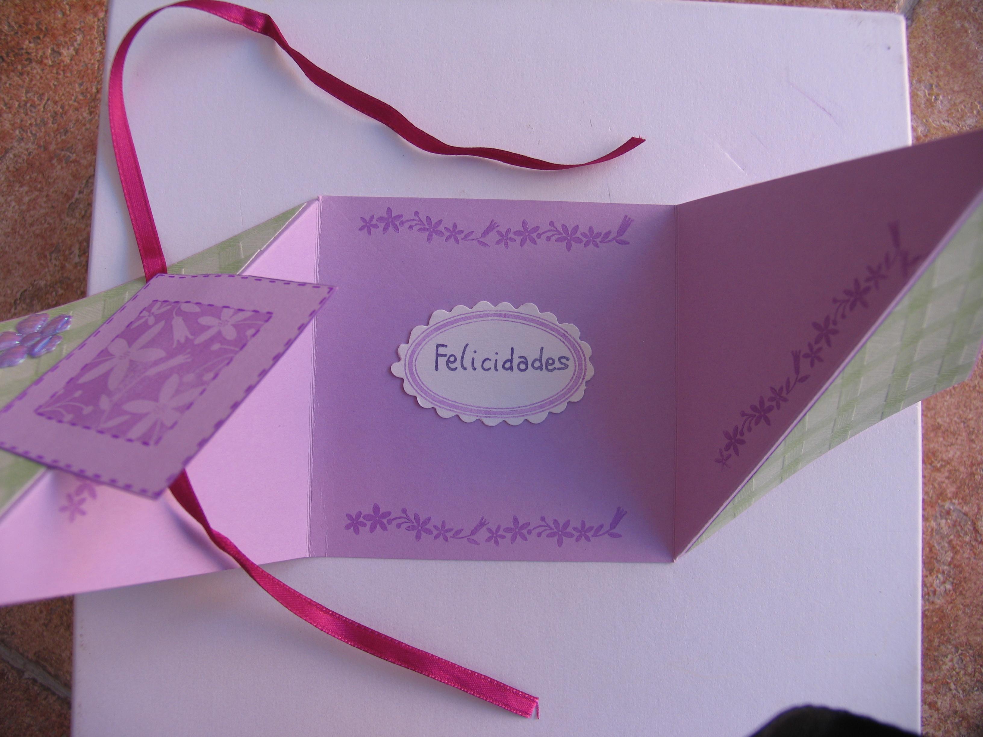 Como hacer una tarjeta de cumplea os - Que hacer para un cumpleanos ...